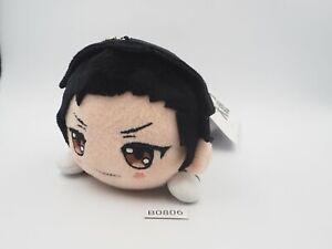 "Sakura Wars Taisen B0806 Kamiyama Seijuro SEGA Nesoberi Plush 7"" Toy Doll Japan"