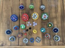 Huge Beyblade Metal Fusion Mixed Lot - 15+ Beyblades & More!