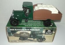 "ERTL 1925 KENWORTH SACK TRUCK BANK, BIG ""A"" AUTO PARTS Limited Edition"