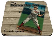 1911 boston red sox mlb baseball tris speaker mouse pad usa made
