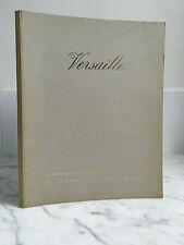 Catalogue sales Versailles Paintings Old Objects Art 16 May 1971