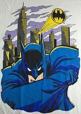 Vintage Mens 2XL 1989 Batman Dark Knight DC Comics Graphic Deadstock T-Shirt