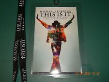 MICHAEL JACKSON'S THIS IS IT OPENING DAY MOVIE LANYARD 2009 COLLECTORS ITEM