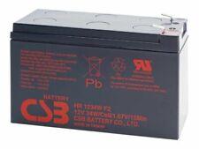 12-Volt 9ah HR1234W Home Alarm Battery by CSB