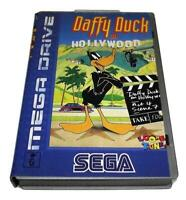 Daffy Duck In Hollywood Sega Mega Drive PAL *No Manual* Silver Edition