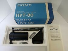New Sony Film Video Adapter Hvt-80 Owners Manual Included Vintage Camera Gear