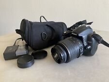 Nikon 25454 D5000 Digital SLR Camera with 18-55mm VR Lens - Black - Used