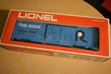 "LIONEL #6-9782 ""THE ROCK"" BLUE BOX CAR New In Box"