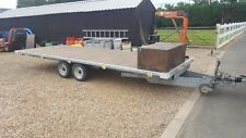 used twin axle trailer