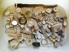 Steampunk IN METALLO ARTE / ARTIGIANATO OFFERTA Orologio da polso ricambi o riparazioni Joblot Cinturino faccia