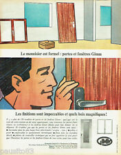 PUBLICITE ADVERTISING 115  1965  GIMM  portes & fenetres
