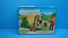 Playmobil 5124 Farm Calf Shelter series Farmer female Fence NEW Toy Bird 105
