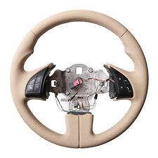 Fiat Lenkrad 500 Neu Beziehen Daumenauflagen Beige 77905