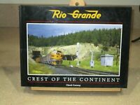 RIO GRANDE CREST OF THE CONTINENT, RAILROAD, RARE BOOKS, NEW, train caboose BIG