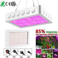 2000W 200 LED Grow Light Full Spectrum Veg Flower Indoor Plant Lamp Panel Kit #Q