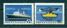 Russie - USSR 1966 - Michel n. 3196/97 - Transport maritime de ligne Leningrad M