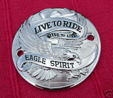 COUVERCLE ALLUMAGE CHROMÉ EAGLE SPIRIT HARLEY-DAVIDSON BIG TWIN