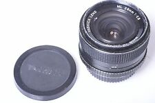 CONTAX, YASHICA ML 28MM 2.8 LENS WITH CAPS. FREE WW SHIPPING