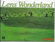 Lens Wonderland - Canon FD Lens Guide Book (1982)