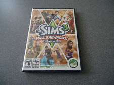 Sims 3: World Adventures (Windows/Mac, 2009)  NEW