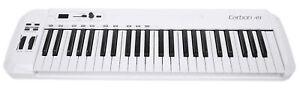 Samson Carbon 49 Key USB MIDI DJ Keyboard Controller+Komplete Elements Software