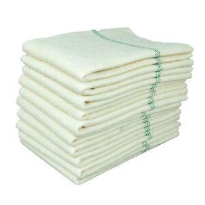 10 HRB Bodentücher 50 x 60 cm weiß Scheuerlappen Aufnehmer Feudel Wischtücher