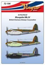 vingtor 1/72 De Havilland Mosquito mk.iv Británico Overseas Airways Corporación