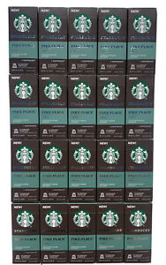 STARBUCKS by NESPRESSO Pike Place Roast Aluminum Capsules 200 ct. Best By 8/2021