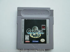 Casper (Nintendo Game Boy, 1996) Game Only--Tested (Natsume) NTSC/US/CA
