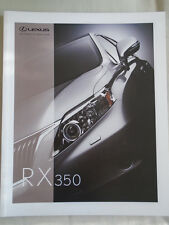 Lexus RX 350 brochure c2006 Arabic & English text