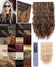 Perruques, extensions et matériel longs ondulés pour femme