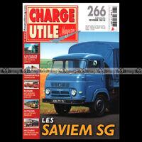 CHARGE UTILE N°266 SAVIEM SG AUTOCAR NOPLAN POMPIERS GAILLON TRANSLOCAD VOLVO FH