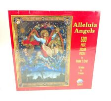 """Sunsout Alleluia Angels 500 Piece Puzzle by Kinuk Y. Craft 18""""x24"""" Sealed USA"""