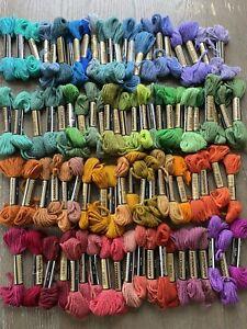 Lot of 87 Paternayan Virgin Wool Yarn 8yd Skein Needlepoint Tapestry Persian Vtg