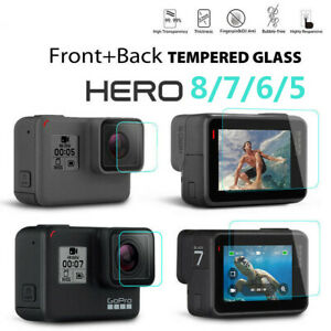 Tempered Glass Screen Protector Camera Protector For GoPro Hero 8 7 Black 6 5