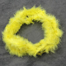 New Various Colours 2 Meters Marabou Feather Boa For Burlesque Boas Dress Party