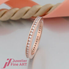 RING - Memoire-Ring mit 45 Brillanten ges. 0,50ct tw/si -18K/750 Rotgold - NEU !
