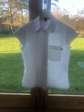 Louis Vuitton Classic White Shirt UK10/Fr38