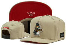 Hip Hop Men's CAYLER Sons Cap adjustable Baseball Snapback Street Beige hat 593#