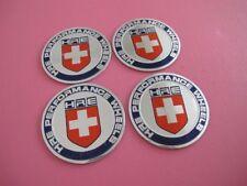 4pcs HRE Wheel Center Hub Cap Badge Emblem Stickers Decal Car Auto 56mm