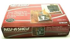 Rev-A-Shelf's Metal Door Mounting Kit For Wire Sink And Base Unit USA Seller