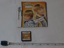 The Suite Life of Zack and & Cody Nintendo DS game booklet ONLY Tipton Trouble