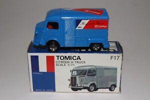 TOMICA POCKET CARS #F17 CITROEN H TRUCK, BLUE, ODAKYU, EXCELLENT, BOXED