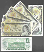 Canada One 1 Dollar $1 (1973) Circulated Banknote