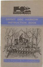 Manual Other Ferguson Disc Plough Instruction Book ................................