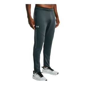 Under Armour Men's Sz Sm Qualifier Hybrid Knit Tapered Warm Up Pants 1327204-008