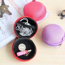 Headphone Earphone Earbuds SD TF Card Wallet Hard Case Storage Bag Coin Bag