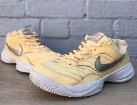 Nike Court Lite Tennis Shoes Tangerine Tint Size 6