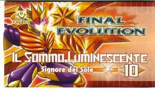 GORMITI  - FINAL EVOLUTION - FANBUK - IL SOMMO LUMINESCENTE - SIGNORE DEL SOLE