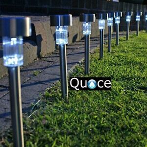 Quace Solar LED Light for Garden Rod Set of 10 Good Quality Easy To Fit